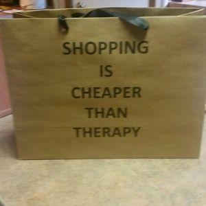 Cute 6 piece shopping tote bags